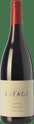14,95 € Kostenloser Versand | Rotwein Domaine Lafage Cayrol Joven I.G.P. Vin de Pays Côtes Catalanes Languedoc-Roussillon Frankreich Carignan Flasche 75 cl