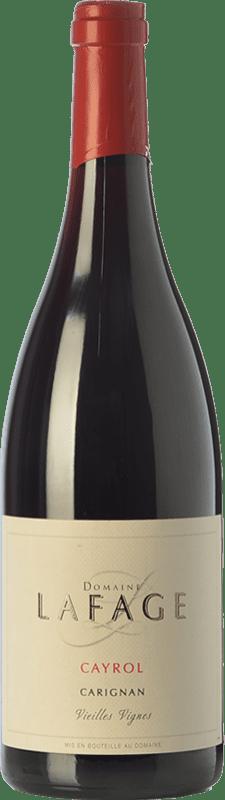 14,95 € Envoi gratuit | Vin rouge Domaine Lafage Cayrol Joven I.G.P. Vin de Pays Côtes Catalanes Languedoc-Roussillon France Carignan Bouteille 75 cl