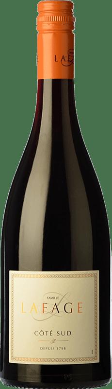 9,95 € Free Shipping | Red wine Domaine Lafage Côté Sud Crianza I.G.P. Vin de Pays Côtes Catalanes Languedoc-Roussillon France Syrah, Grenache Bottle 75 cl
