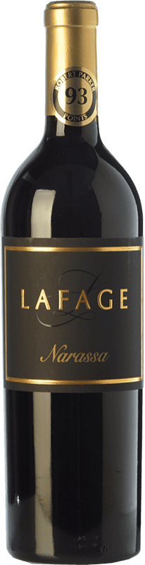 13,95 € Envoi gratuit | Vin rouge Domaine Lafage Narassa Joven A.O.C. Côtes du Roussillon Languedoc-Roussillon France Syrah, Grenache Bouteille 75 cl