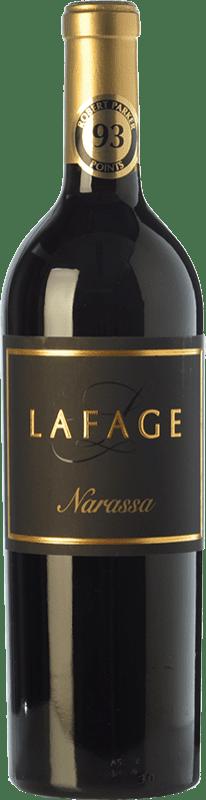13,95 € Envío gratis | Vino tinto Domaine Lafage Narassa Joven A.O.C. Côtes du Roussillon Languedoc-Roussillon Francia Syrah, Garnacha Botella 75 cl