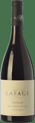 9,95 € Kostenloser Versand | Rotwein Domaine Lafage Nicolas Joven I.G.P. Vin de Pays Côtes Catalanes Languedoc-Roussillon Frankreich Grenache Flasche 75 cl