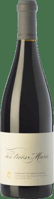 86,95 € Free Shipping | Red wine Thunevin-Calvet Les Trois Marie Crianza A.O.C. Côtes du Roussillon Villages Languedoc-Roussillon France Grenache Bottle 75 cl
