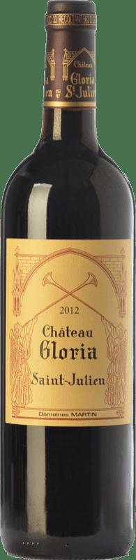 51,95 € Free Shipping   Red wine Domaines Henri Martin Château Gloria Crianza A.O.C. Saint-Julien Bordeaux France Merlot, Cabernet Sauvignon, Cabernet Franc, Petit Verdot Bottle 75 cl