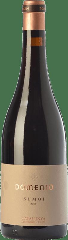 14,95 € Free Shipping | Red wine Domenys Domenio Sumoi Joven D.O. Catalunya Catalonia Spain Sumoll Bottle 75 cl