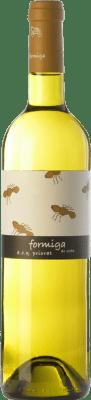 16,95 € Envío gratis | Vino blanco Domini de la Cartoixa Formiga de Seda Blanc Crianza D.O.Ca. Priorat Cataluña España Garnacha Blanca, Viognier Botella 75 cl