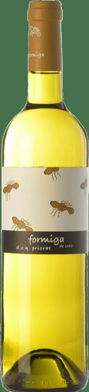 16,95 € Free Shipping | White wine Domini de la Cartoixa Formiga de Seda Blanc Crianza D.O.Ca. Priorat Catalonia Spain Grenache White, Viognier Bottle 75 cl