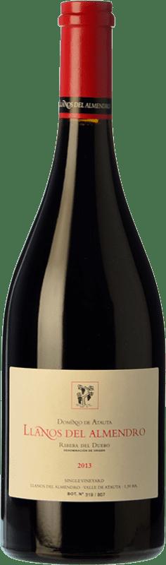 114,95 € Free Shipping | Red wine Dominio de Atauta Llanos del Almendro Crianza 2010 D.O. Ribera del Duero Castilla y León Spain Tempranillo Bottle 75 cl