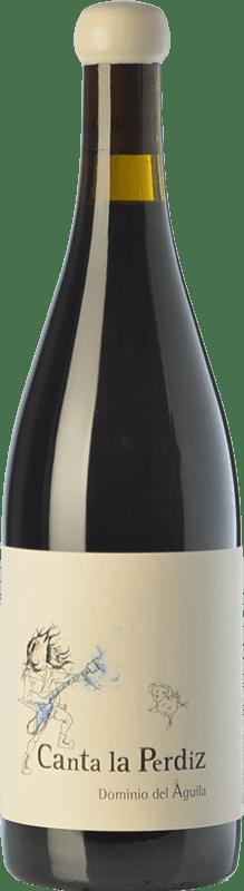 265,95 € Free Shipping | Red wine Dominio del Águila Canta La Perdiz Crianza D.O. Ribera del Duero Castilla y León Spain Tempranillo, Carignan, Bobal, Albillo, Bruñal Bottle 75 cl