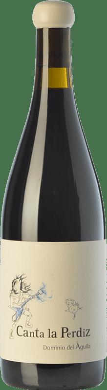 763,95 € Free Shipping | Red wine Dominio del Águila Canta La Perdiz Crianza D.O. Ribera del Duero Castilla y León Spain Tempranillo, Carignan, Bobal, Albillo, Bruñal Magnum Bottle 1,5 L