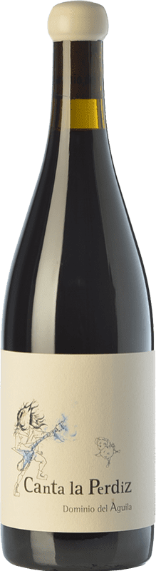 757,95 € Envío gratis | Vino tinto Dominio del Águila Canta La Perdiz Crianza D.O. Ribera del Duero Castilla y León España Tempranillo, Cariñena, Bobal, Albillo, Bruñal Botella Mágnum 1,5 L