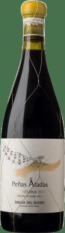 167,95 € Envío gratis | Vino tinto Dominio del Águila Peñas Aladas GR Gran Reserva D.O. Ribera del Duero Castilla y León España Tempranillo, Albillo, Bruñal Botella 75 cl