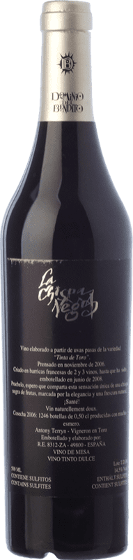 41,95 € Free Shipping | Sweet wine Dominio del Bendito La Chispa Negra 2006 D.O. Toro Castilla y León Spain Tinta de Toro Half Bottle 50 cl