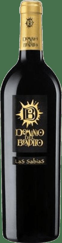 28,95 € Spedizione Gratuita | Vino rosso Dominio del Bendito Las Sabias Crianza D.O. Toro Castilla y León Spagna Tinta de Toro Bottiglia 75 cl