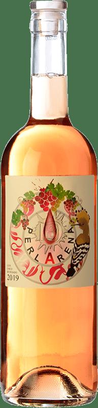 9,95 € Envío gratis | Vino rosado Dominio del Bendito Perlarena D.O. Toro Castilla y León España Syrah, Tinta de Toro, Verdejo Botella 75 cl