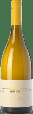 25,95 € Kostenloser Versand | Weißwein Dominio do Bibei Lapola Crianza D.O. Ribeira Sacra Galizien Spanien Godello, Doña Blanca Flasche 75 cl