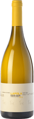 25,95 € Free Shipping | White wine Dominio do Bibei Lapola Crianza D.O. Ribeira Sacra Galicia Spain Godello, Doña Blanca Bottle 75 cl