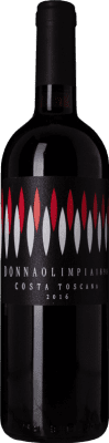 9,95 € Free Shipping | Red wine Donna Olimpia 1898 Rosso I.G.T. Costa Toscana Tuscany Italy Merlot, Cabernet Sauvignon, Cabernet Franc, Petit Verdot Bottle 75 cl