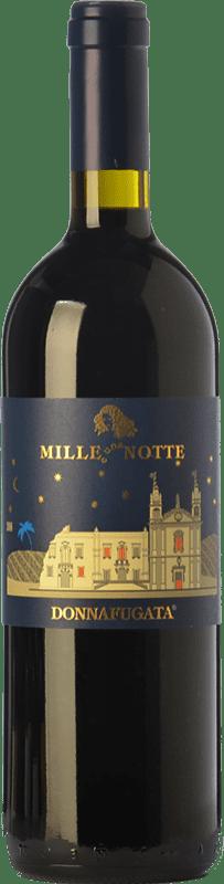 125,95 € Free Shipping | Red wine Donnafugata Mille e Una Notte D.O.C. Contessa Entellina Sicily Italy Nero d'Avola Magnum Bottle 1,5 L