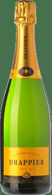 387,95 € 免费送货 | 白起泡酒 Champagne Drappier Carte d'Or 香槟 A.O.C. Champagne 香槟酒 法国 Pinot Black, Chardonnay, Pinot Meunier 皇家瓶-Mathusalem 6 L | 成千上万的葡萄酒爱好者信赖我们,保证最优惠的价格,免费送货,购买和退货,没有复杂性.