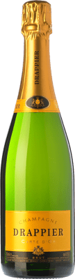 387,95 € Free Shipping | White sparkling Champagne Drappier Carte d'Or Brut A.O.C. Champagne Champagne France Pinot Black, Chardonnay, Pinot Meunier Imperial Bottle-Mathusalem 6 L. | Thousands of wine lovers trust us to get the best price guarantee, free shipping always and hassle-free shopping and returns.