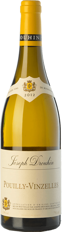 19,95 € Free Shipping | White wine Drouhin Crianza A.O.C. Pouilly-Vinzelles Burgundy France Chardonnay Bottle 75 cl