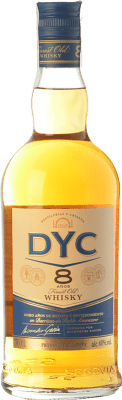 14,95 € Free Shipping | Whisky Blended DYC 8 Spain Bottle 70 cl
