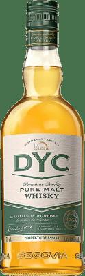 17,95 € Envío gratis   Whisky Single Malt DYC Pure Malt España Botella 70 cl