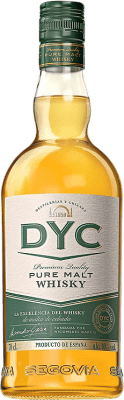 17,95 € Free Shipping | Whisky Single Malt DYC Pure Malt Spain Bottle 70 cl