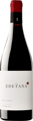 13,95 € Kostenloser Versand | Rotwein Edetària Via Edetana Negre Crianza D.O. Terra Alta Katalonien Spanien Syrah, Grenache, Carignan Flasche 75 cl