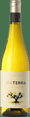 8,95 € Kostenloser Versand | Weißwein Edetària Via Terra Blanc D.O. Terra Alta Katalonien Spanien Grenache Weiß Flasche 75 cl