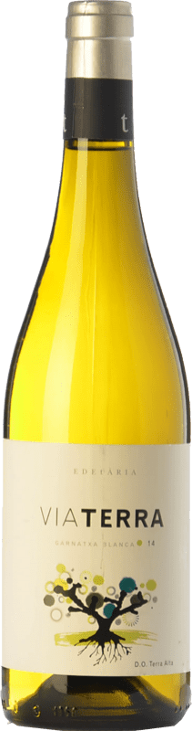 9,95 € Free Shipping | White wine Edetària Via Terra Blanc D.O. Terra Alta Catalonia Spain Grenache White Bottle 75 cl