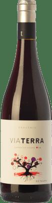 9,95 € Kostenloser Versand | Rotwein Edetària Via Terra Negre Joven D.O. Terra Alta Katalonien Spanien Grenache Flasche 75 cl