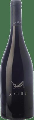 46,95 € Free Shipping | Red wine El Grillo y la Luna Crianza D.O. Somontano Aragon Spain Merlot, Syrah, Grenache, Cabernet Sauvignon Bottle 75 cl