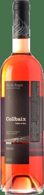 11,95 € Envío gratis | Vino rosado El Molí Collbaix Rosat D.O. Pla de Bages Cataluña España Merlot, Sumoll Botella 75 cl