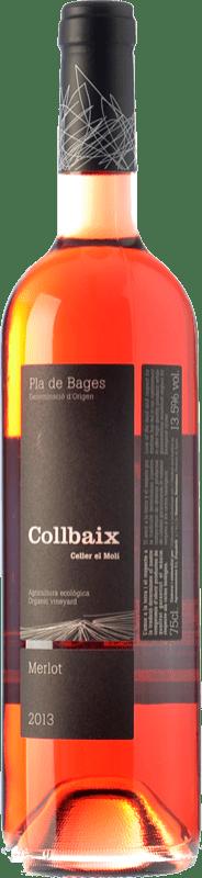 11,95 € Envoi gratuit | Vin rose El Molí Collbaix Rosat D.O. Pla de Bages Catalogne Espagne Merlot, Sumoll Bouteille 75 cl