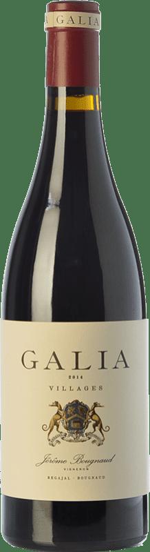36,95 € Free Shipping | Red wine El Regajal Galia Crianza D.O. Vinos de Madrid Madrid's community Spain Tempranillo, Grenache Bottle 75 cl