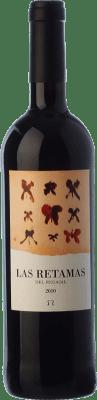 7,95 € Envío gratis | Vino tinto El Regajal Las Retamas Joven D.O. Vinos de Madrid Comunidad de Madrid España Tempranillo, Merlot, Syrah, Cabernet Sauvignon Botella 75 cl