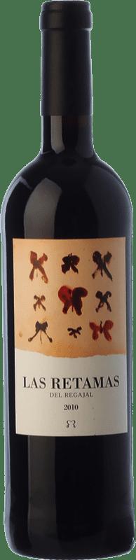 7,95 € Free Shipping | Red wine El Regajal Las Retamas Joven D.O. Vinos de Madrid Madrid's community Spain Tempranillo, Merlot, Syrah, Cabernet Sauvignon Bottle 75 cl