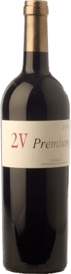 47,95 € Envoi gratuit | Vin rouge Elías Mora 2V Premium Reserva 2009 D.O. Toro Castille et Leon Espagne Tinta de Toro Bouteille 75 cl
