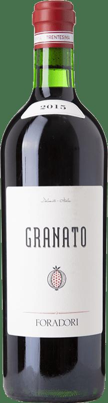 59,95 € Free Shipping | Red wine Foradori Granato I.G.T. Vigneti delle Dolomiti Trentino Italy Teroldego Bottle 75 cl
