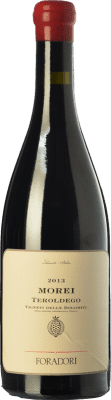 27,95 € Free Shipping | Red wine Foradori Morei I.G.T. Vigneti delle Dolomiti Trentino Italy Teroldego Bottle 75 cl