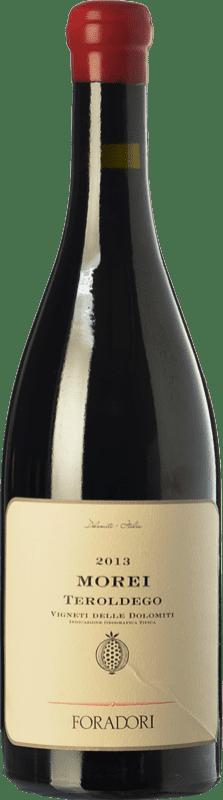 34,95 € Envío gratis | Vino tinto Foradori Morei I.G.T. Vigneti delle Dolomiti Trentino Italia Teroldego Botella 75 cl