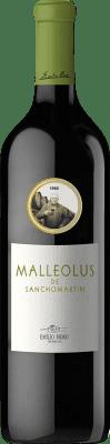 113,95 € Envío gratis | Vino tinto Emilio Moro Malleolus de Sanchomartín Reserva D.O. Ribera del Duero Castilla y León España Tempranillo Botella 75 cl