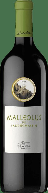 113,95 € Envoi gratuit   Vin rouge Emilio Moro Malleolus de Sanchomartín Reserva D.O. Ribera del Duero Castille et Leon Espagne Tempranillo Bouteille 75 cl