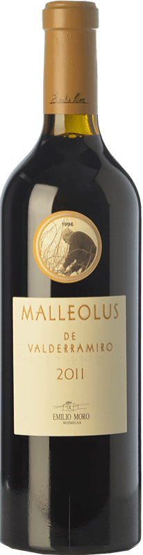 77,95 € Free Shipping | Red wine Emilio Moro Malleolus de Valderramiro Crianza D.O. Ribera del Duero Castilla y León Spain Tempranillo Magnum Bottle 1,5 L