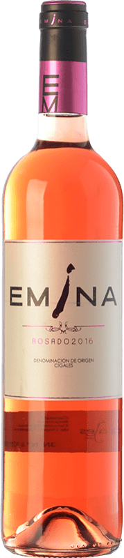 5,95 € Free Shipping | Rosé wine Emina D.O. Cigales Castilla y León Spain Tempranillo, Verdejo Bottle 75 cl