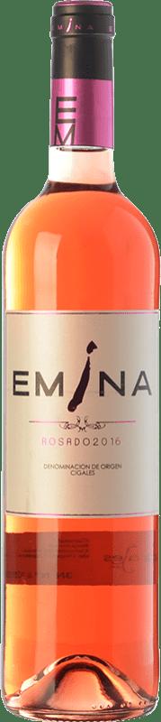 6,95 € Envío gratis | Vino rosado Emina D.O. Cigales Castilla y León España Tempranillo, Verdejo Botella 75 cl