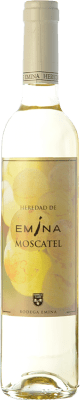 8,95 € Free Shipping | Sweet wine Emina D.O. Rueda Castilla y León Spain Muscatel Half Bottle 50 cl | Thousands of wine lovers trust us to get the best price guarantee, free shipping always and hassle-free shopping and returns.