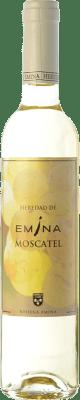 5,95 € Envío gratis | Vino dulce Emina D.O. Rueda Castilla y León España Moscatel Media Botella 50 cl